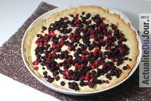 Recette pour cuisiner une bonne tarte aux fruits rouges